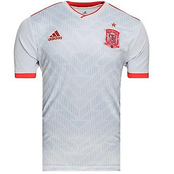 2018-2019 Spanien Away Adidas Fußballtrikot
