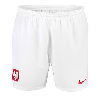2018-2019 Polen Hause Nike Shorts (weiß)