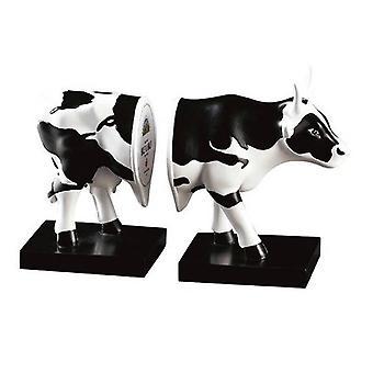 Vaca desfile de mitad y mitad (medio)