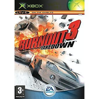 Burnout 3 Takedown (Xbox) - New