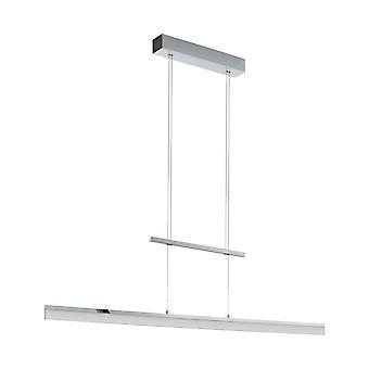 Eglo LED Hanging Lamp L 1180 Chrom / Sat. Tarandell