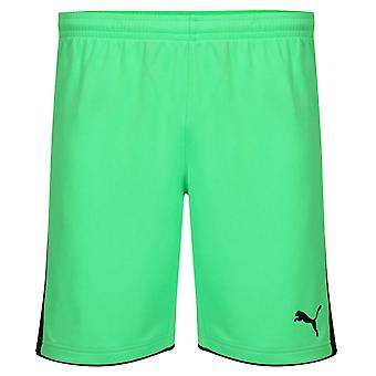 2014-15 Puma Goalkeeper Shorts (Fluro Green)