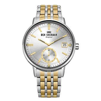 Ben Sherman mens watch PORTOBELLO PROFESSIONAL DAY-DATE WB071GSM