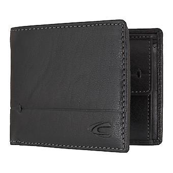 Camel active Jakarta mannen wallet portemonnee portemonnee zwart 6706