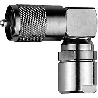 UHF liitin pistoke, kulmassa 50 Ω Telegärtner J01040B1202 1 PCs()