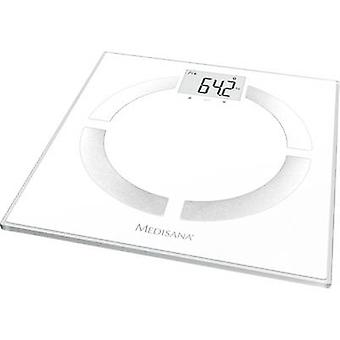 Medisana BS 444 connect Analytical scales Weight range=180 kg White