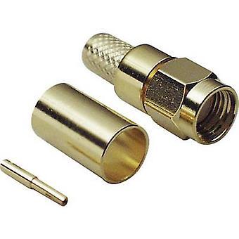 Polarità del connettore Plug, dritto 50 Ω BKL Electronic 0419002 1/PC reverse SMA