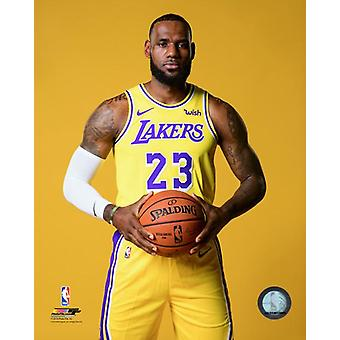LeBron James 2018 stwarzane Photo Print