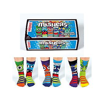 United Oddsocks Funny Face Socks - Teenage Boy Gift