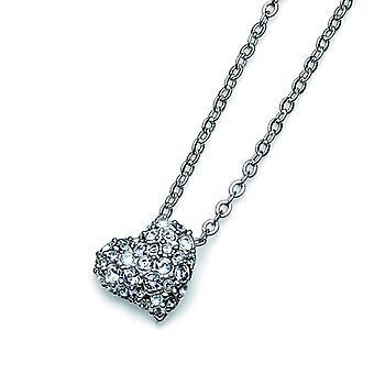Oliver Weber Pendant Darling Rhodium Crystal
