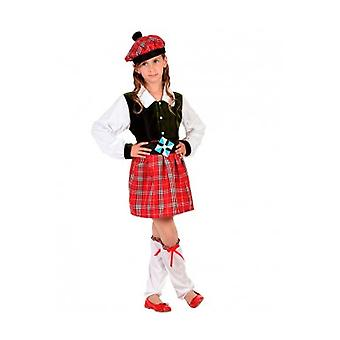 Children's costumes Children Scottish costume child girl