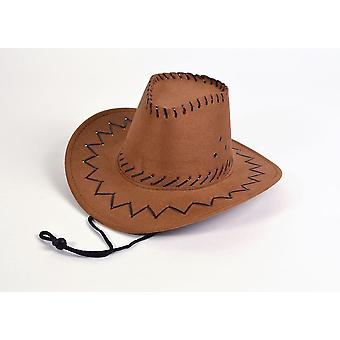Cowboy Hat.Leather drutu, Childs