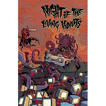Night of the Living Vidiots - A Collection of Comics by Andy Ristaino