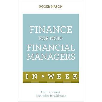 Finanzierung für nichtfinanzielle Manager in einer Woche - Finance in S verstehen