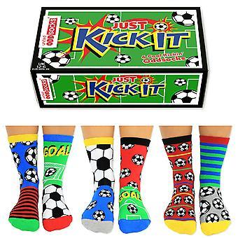 United Oddsocks Kick It Sock Gift Set For Boys