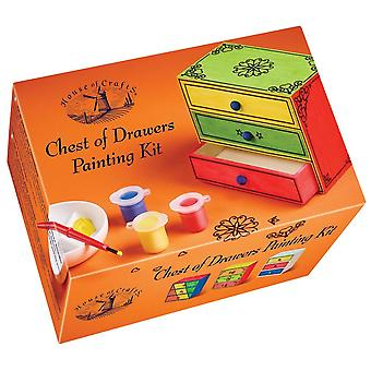 House of Crafts Chest Of Drawers Painting Kit