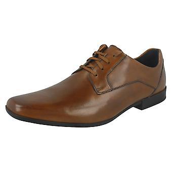 Herren Clarks formale Schuhe Glement Spitze