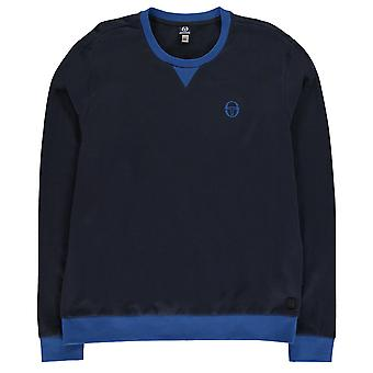 Sergio Tacchini Mens Zacon Sweatshirt Crew Sweater T Shirt Top Jumper Pullover