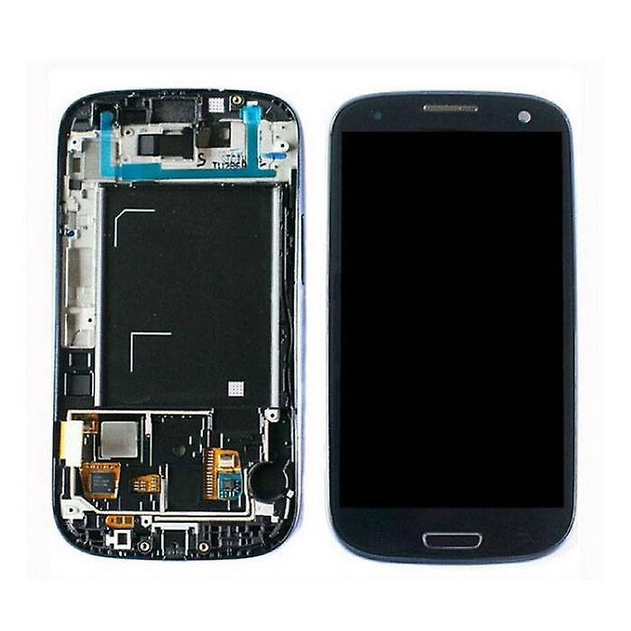 Stuff Certified® Samsung Galaxy S3 I9300 screen (Touchscreen + AMOLED + Parts) A + Quality - Blue / Black / White