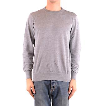 Brunello Cucinelli Ezbc002045 Men's Grey Linen Sweater