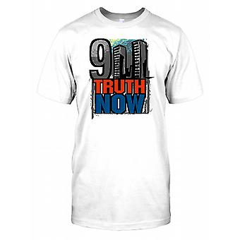 911 Truth Now - Twin Towers - Conspiracy Mens T Shirt