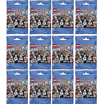 LEGO 24X12 Minifiguren Disney Series 2-12 figuren geplukt willekeurig