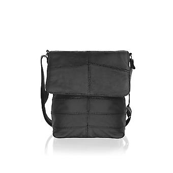Landscape Black Messenger Bag 15.0