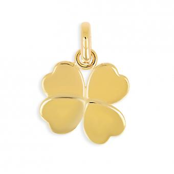 Gold-plated pendant Four-Leaf Clover
