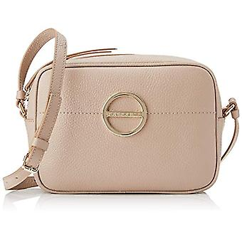 Borbonese Women's Beige Cross-body bag (Mandorla) 22x16.5x7.5 cm (W x H x L)