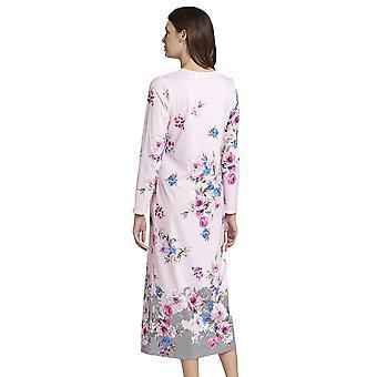 Rösch 1193591-16412 Ženy's New Romance Růžová květinová bavlna Noční košile