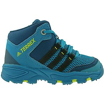 アディダス テルレックス AX2 ミッド I CM7276 ユニバーサル冬の幼児靴