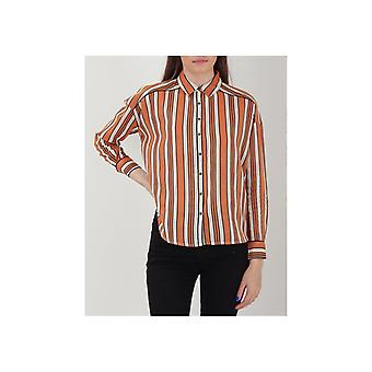 Maison Scotch Boxy Stripe Shirt