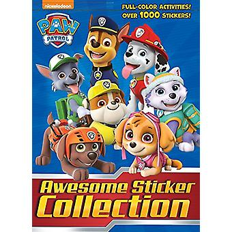 Paw Patrol Awesome Sticker Collection (Paw Patrol) by Golden Books -