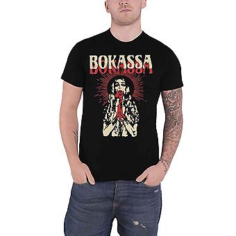 Bokassa T Shirt Walker Texas Danger Band Logo new Official Mens Black