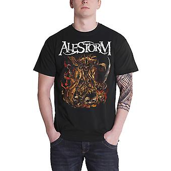 Alestorm T Shirt We Are Here To Drink Your Beer new Official Mens Black