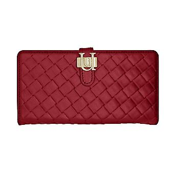 iPhone 6/6s - 4.7 Inch Luxe Exotic Slider Folio Wallet Weave Red