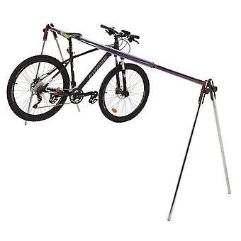 Mottez - Nomade opvouwbaar fietsenrek voor 9 fietsen