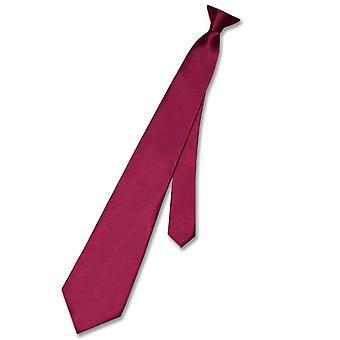 Biagio CLIP-ON Krawatte Solid Herren Krawatte