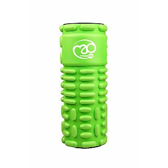 Fitness Mad Core Stability Vari-Massage Roller Muscle Pain Relief Tool - Green