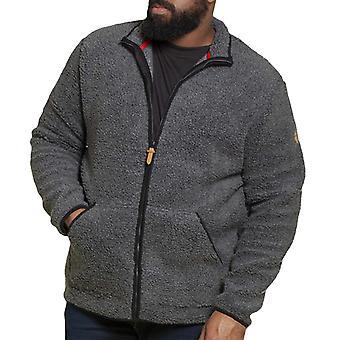 Duke D555 Mens Big Tall Bawty Bonded Full Zip Long Sleeve Pullover Winter Jacket