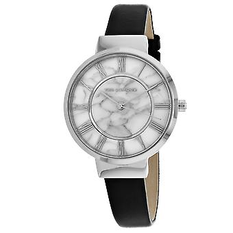 Ted Lapidus Women's Classic Marble white Dial Watch - A0713IARN