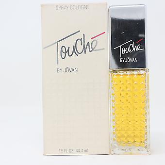 Touche von Jovan Spray Köln 1,5 Unzen/44,4ml Spray Vinatage