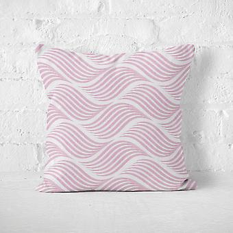 Meesoz Cushion Cover - Endless Waves Pink