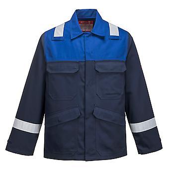 Portwest - Bizflame Plus Flame Résistez Veste de vêtements de travail de sécurité Hi-Vis