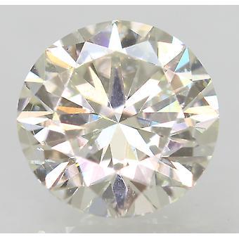 Certified 1.00 Carat G VVS2 Round Brilliant Enhanced Natural Loose Diamond 6.48m