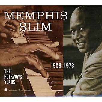 Memphis Slim - 1959-73-Folkways år [DVD] USA importere