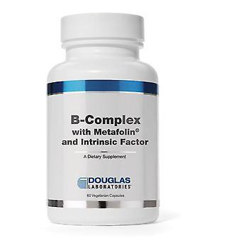 Complejo B con ® Metafolin y Factor Intrín (60 gorras vegetarianas) - Laboratorios Douglas