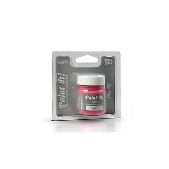 Rainbow Dust Jadalne Paint It Pot Hot Pink 25ml