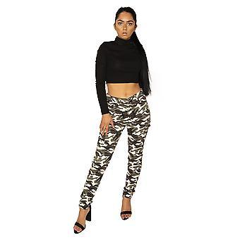 Pantalon Cargo Slim camouflage