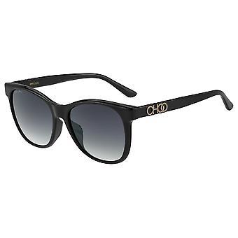 جيمي تشو يونيو / F / S 807/9O الأسود / الرمادي الداكن التدرج النظارات الشمسية